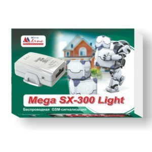 GSM-сигнализация Microline Mega SX-300 Light
