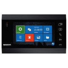 Монитор видеодомофона NOVIcam MAGIC 7 DARK HD с ЖК дисплеем 7″