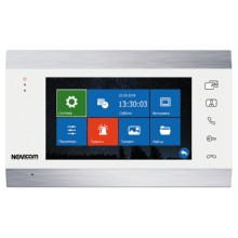 Монитор видеодомофона NOVIcam MAGIC 7 WHITE HD с ЖК дисплеем 7″